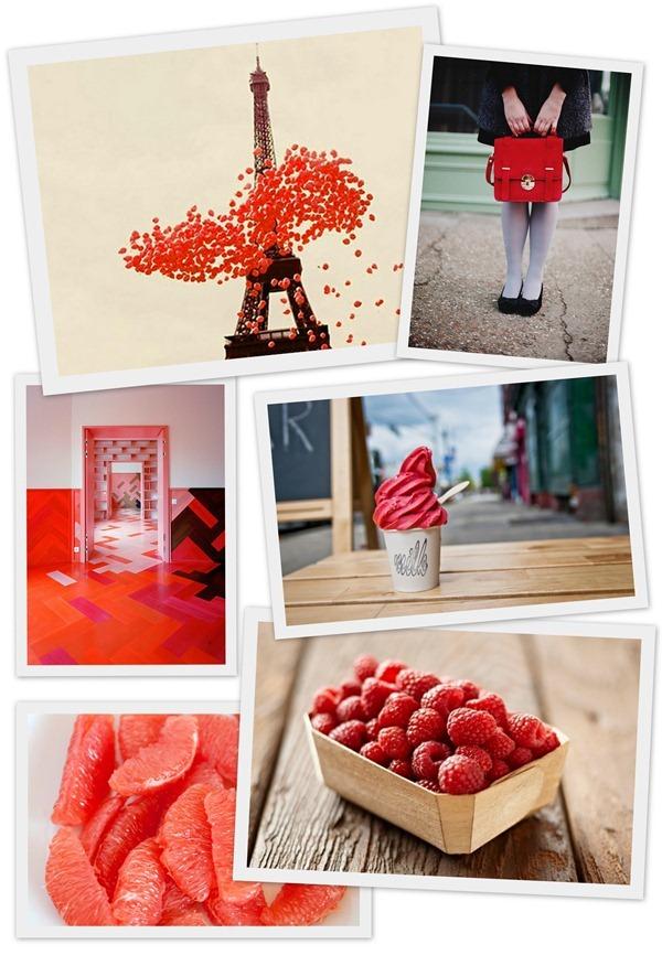 Красный цвет, фотоколлаж, яркие цвета. Inspirational photo