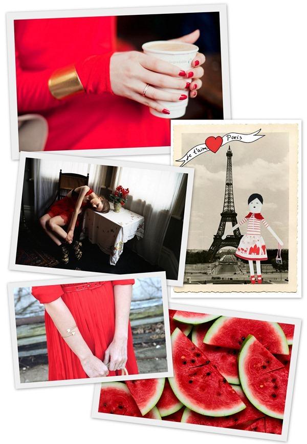 red. счастье в красных тонах