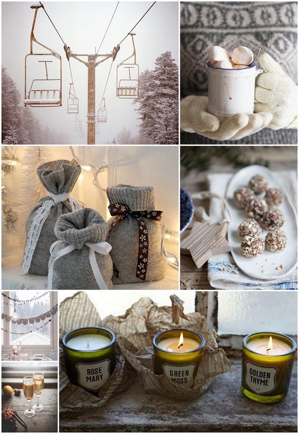 Happy Sunday! Счастливые зимние картинки (зимний новогодний коллаж), фото для вдохновения