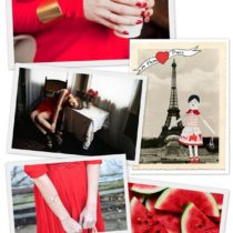 {in red}